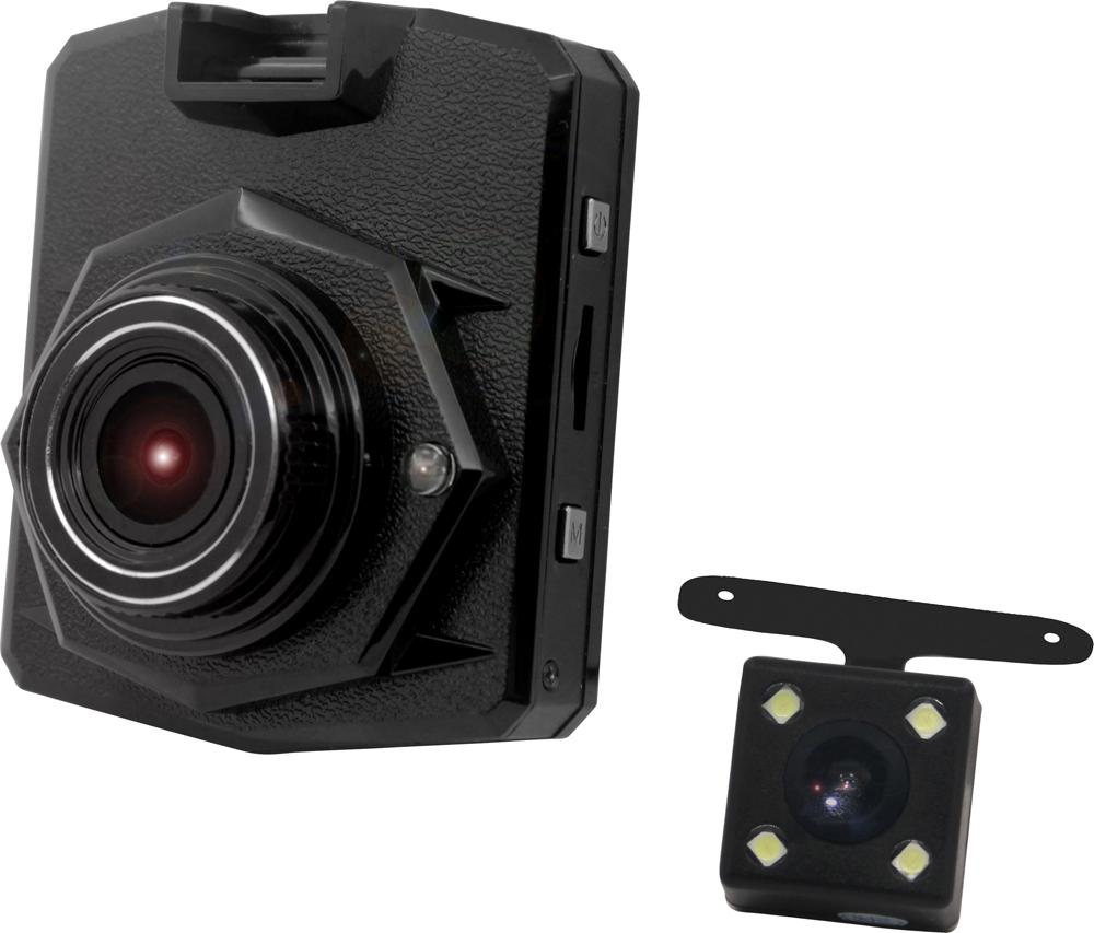 Supra SCR-833DC видеорегистратор с камерой заднего вида