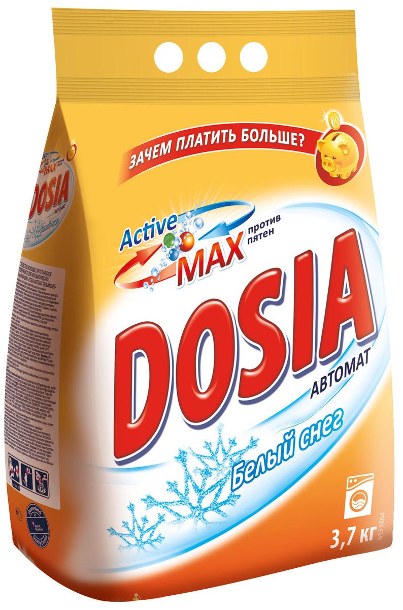 Стиральный порошок Dosia Active Max. Белый снег, 3,7 кг стиральный порошок topperr 3205 active