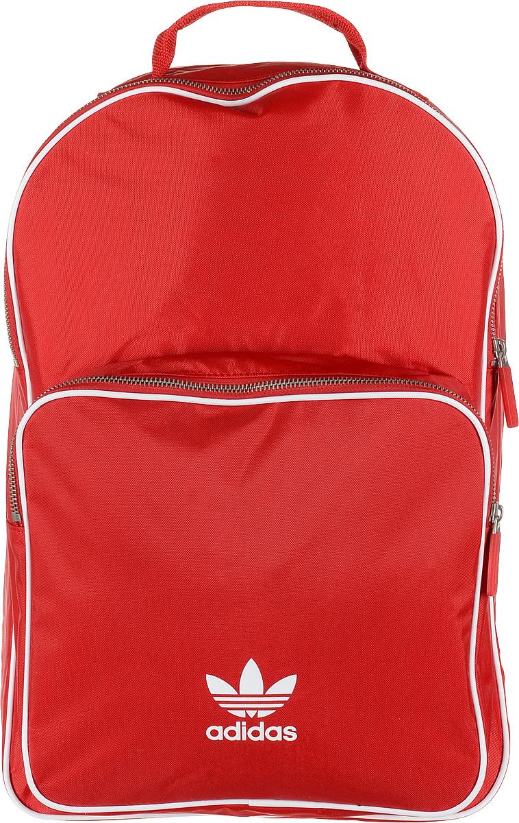 Рюкзак мужской Adidas BP CL Adicolor, цвет: красный, 27 л. CW0636 рюкзак adidas