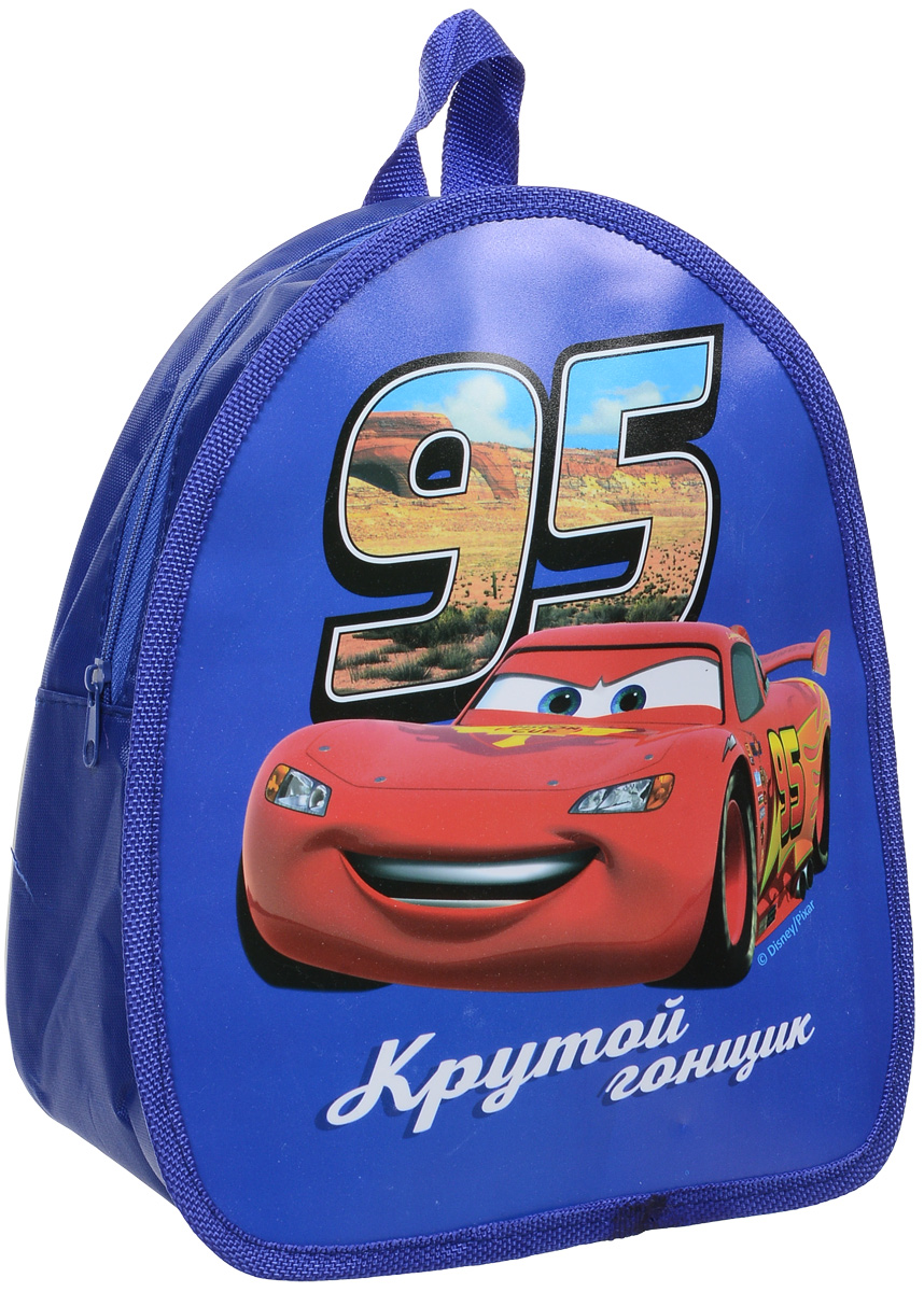 Disney Рюкзак дошкольный Тачки Крутой гонщик цвет синий1761519_синий