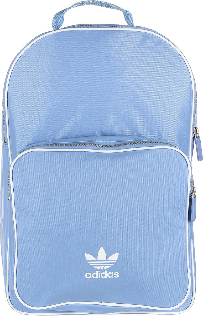 Рюкзак женский Adidas BP CL Adicolor, цвет: голубой, 27 л. CW0631 рюкзак мужской adidas bp cl adicolor цвет красный 27 л cw0636