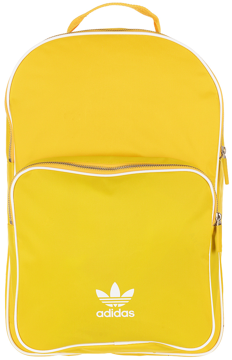 Рюкзак женский Adidas BP CL Adicolor, цвет: желтый, 27 л. CW0634 рюкзак adidas 2014 m67763