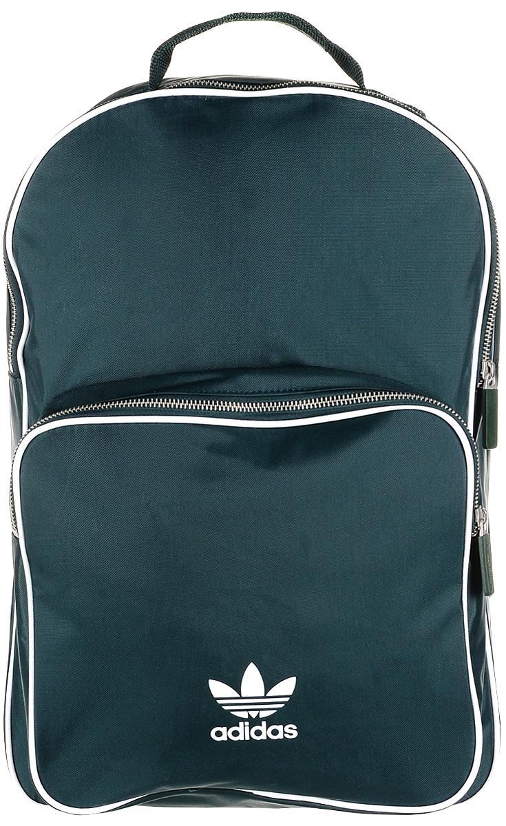 Рюкзак мужской Adidas BP CL Adicolor, цвет: зеленый, 27 л. CW0629 рюкзак adidas 3098