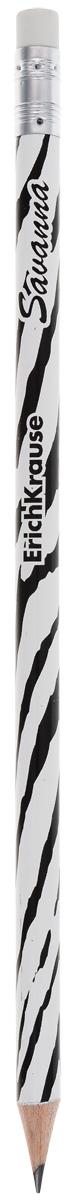 Erich Krause Карандаш чернографитный Savanna Зебра с ластиком 3286332863_зебраКруглый карандаш с оригинальным рисунком на корпусе. Карандаш оснащен ластиком. Прочный неломающийся грифель. Диаметр грифеля 2,2 мм, твердость HB.