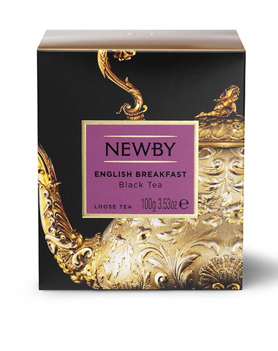 Newby English Breakfast черный листовой чай, 100 г newby taurus english breakfast подарочный набор листового чая 25 г ж б