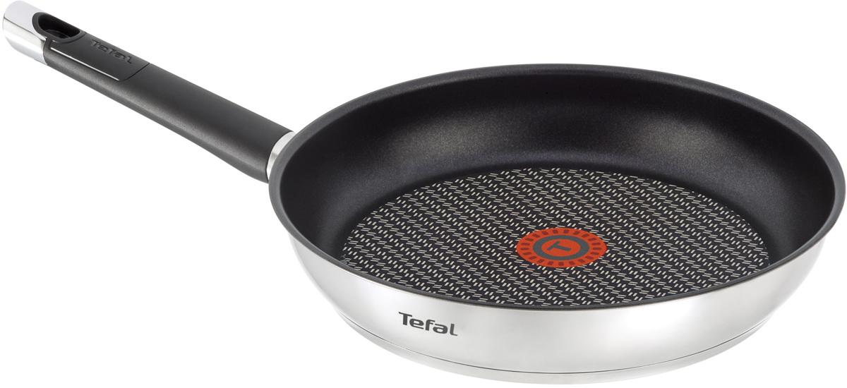 Сковорода Tefal Emotion, с антипригарным покрытием. Диаметр 24 см сковорода tefal 4147924