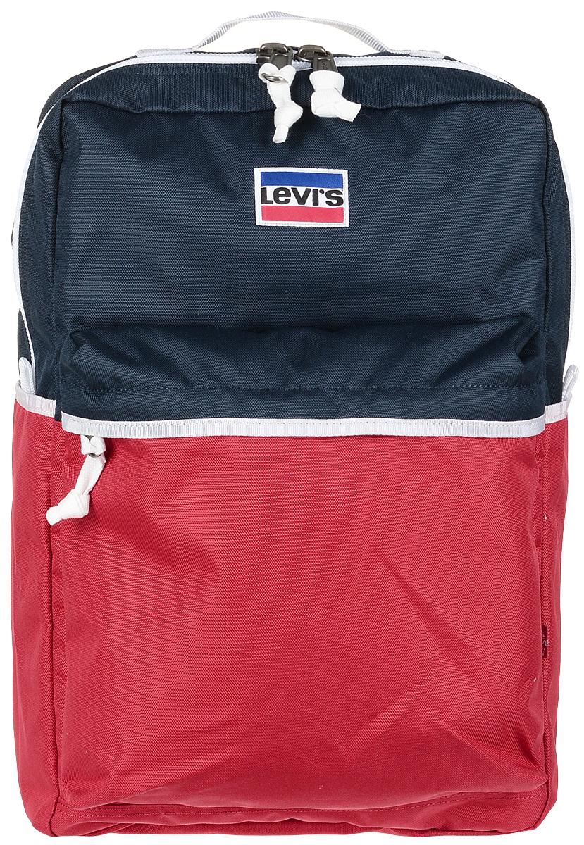 Рюкзак мужской Levi's®, цвет: красный, синий. 3800400450 рюкзак мужской adidas bp cl adicolor цвет красный 27 л cw0636