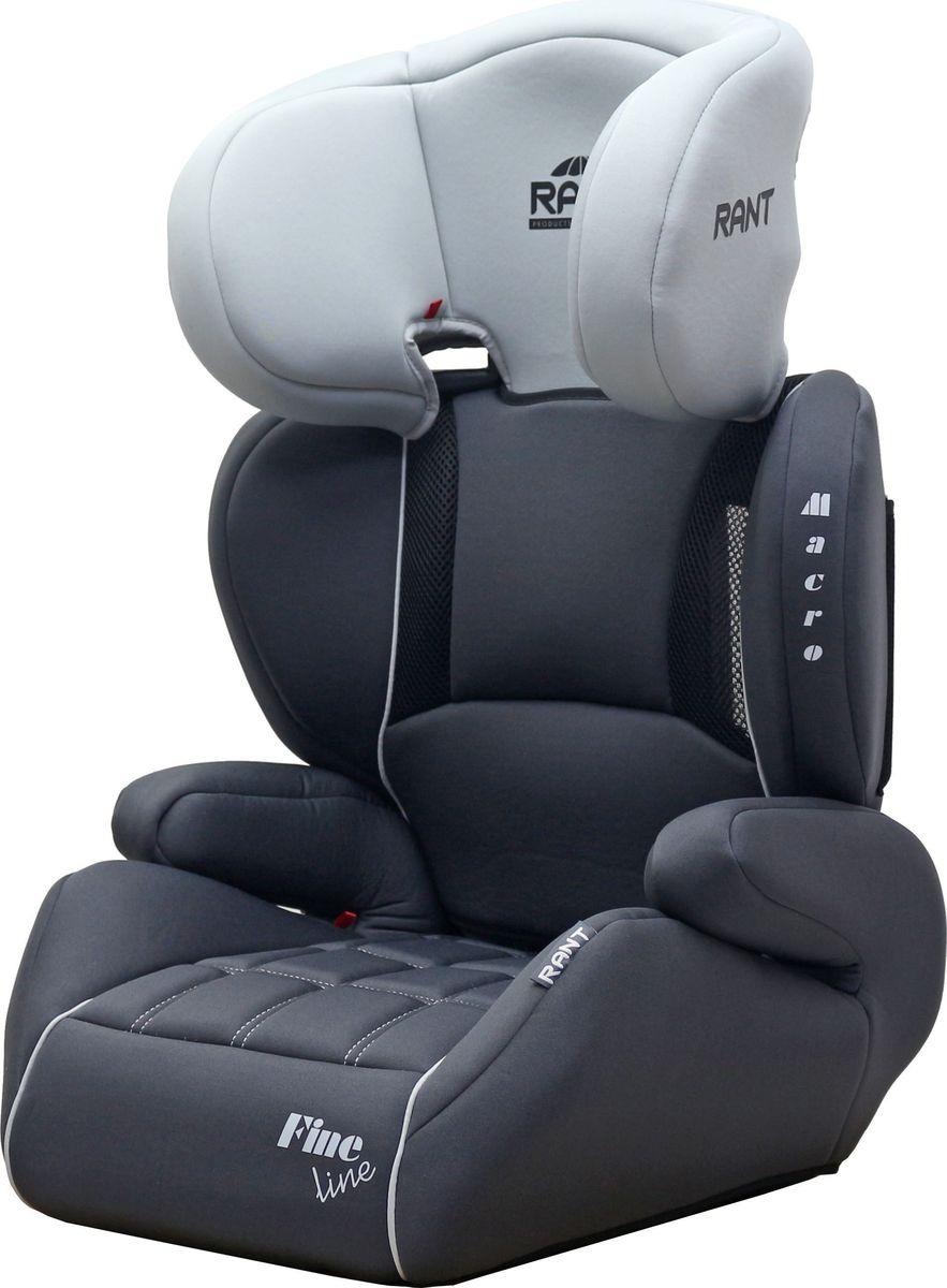 Rant Автокресло Macro Fine Line цвет серый от 15 до 36 кг