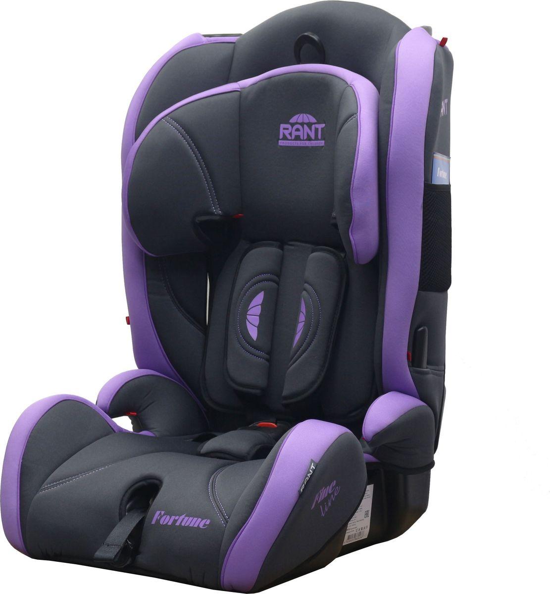 Купить Rant Автокресло Fortune Fine Line цвет фиолетовый от 9 до 36 кг