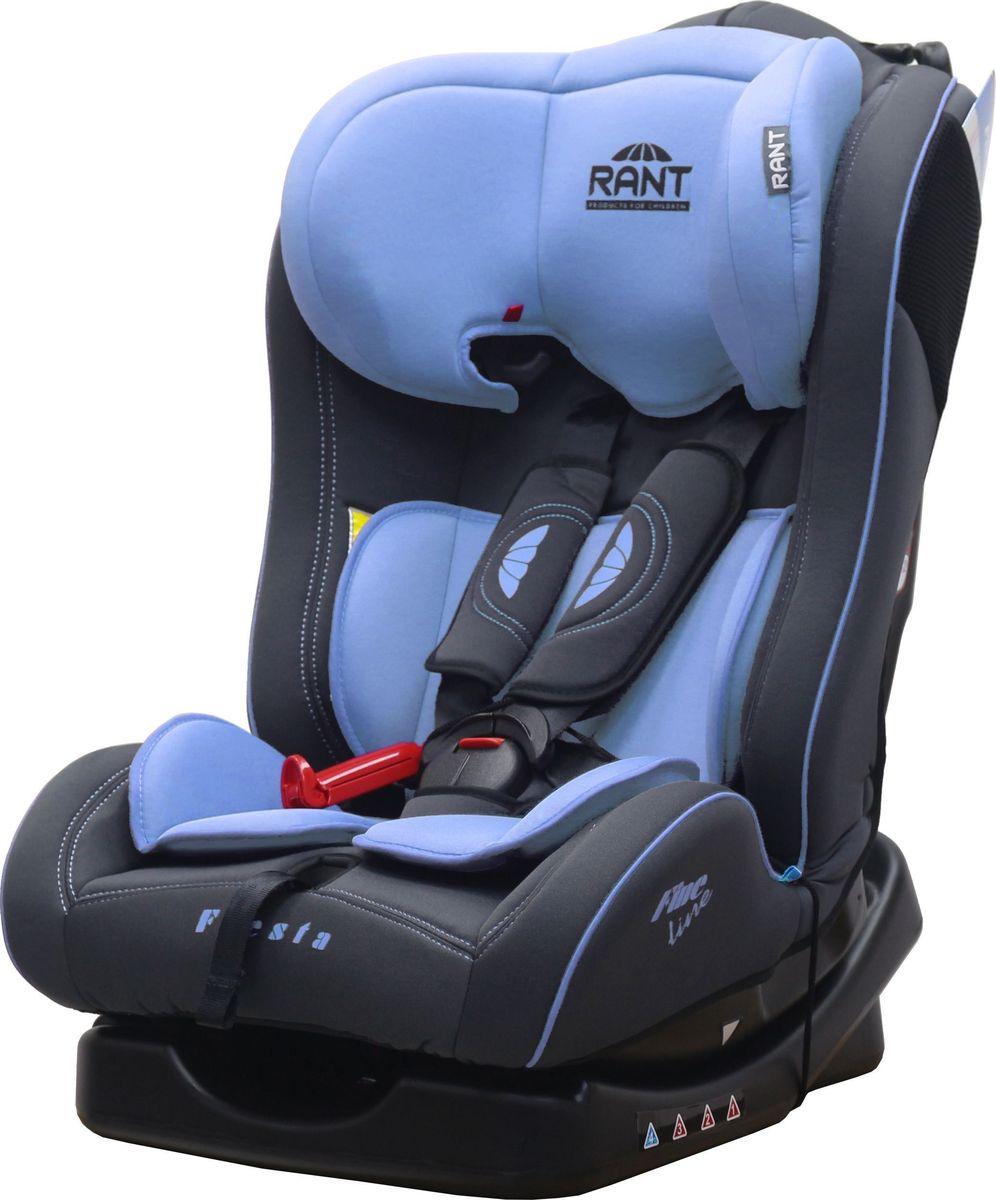 Купить Rant Автокресло Fiesta Fine Line цвет голубой до 25 кг