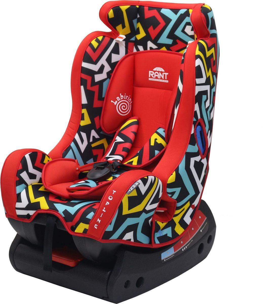 Купить Rant Автокресло Top-Line Labirint цвет красный до 25 кг