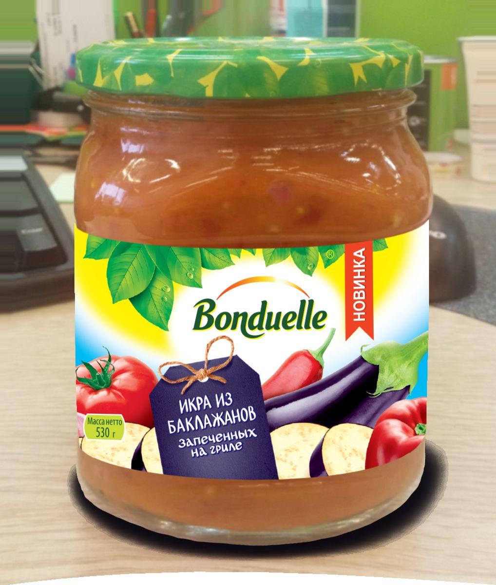 Bonduelle Икра овощная из баклажанов, 530 г дядя ваня икра из баклажанов по балкански 460 г