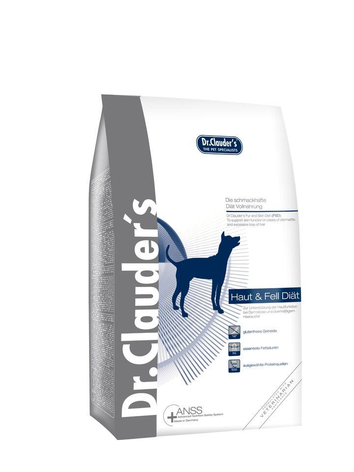 "Корм сухой Dr. Clauder's ""FSD Skin & Coat Diet"", для кожи и шерсти собак, 4 кг"