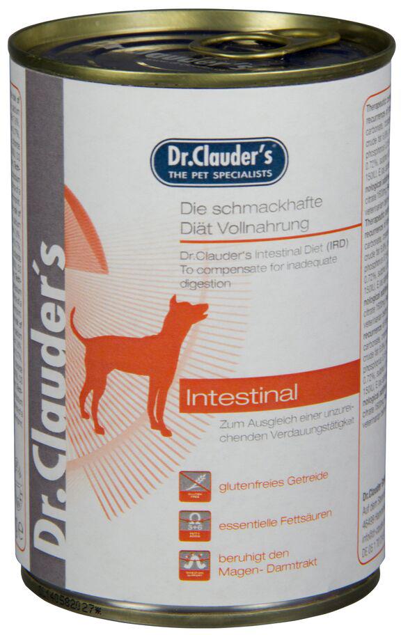 Корм консервированный Dr. Clauder's IRD Intestinal Diet, для кишечника собак, 0,2 кг