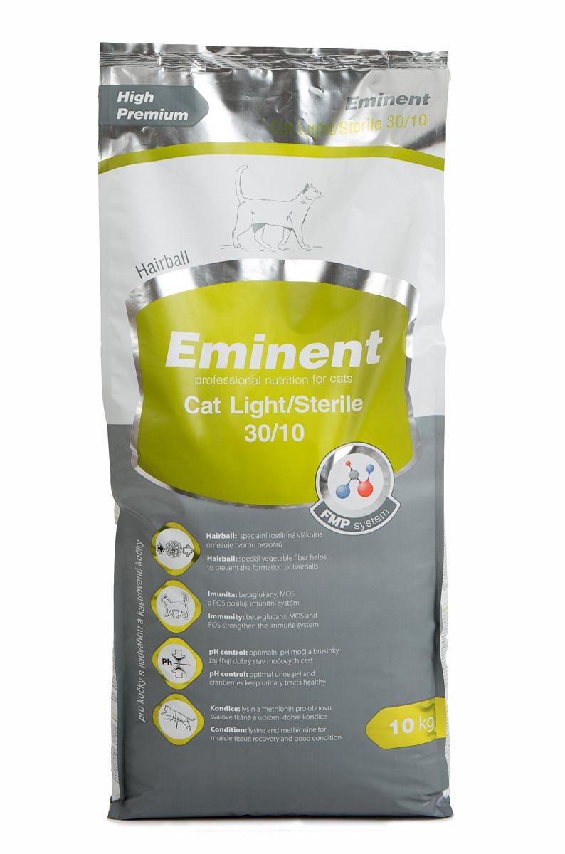 Корм сухой Eminent Суперпремиум. Cat Light. Sterile для взрослых кошек с избыточным весом, с курицей, 10 кг пудовъ мука ржаная обдирная 1 кг