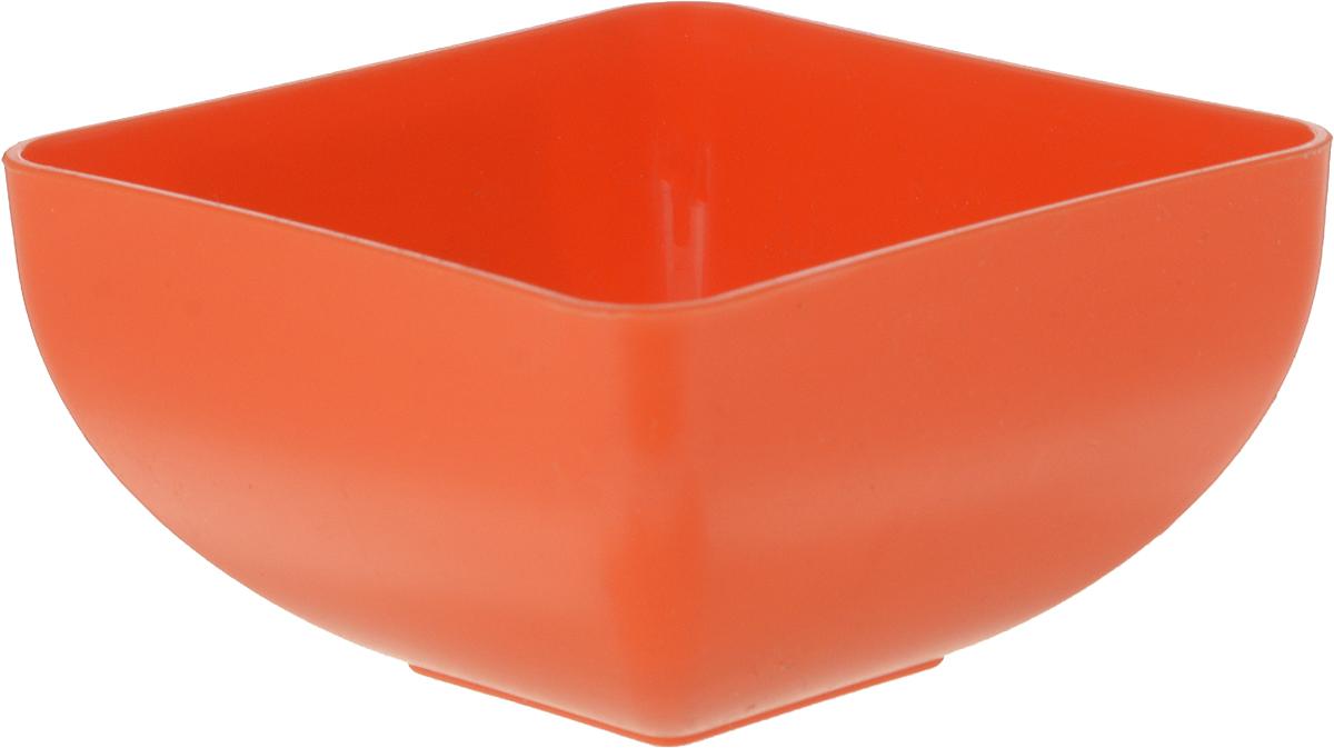 Салатник Gotoff, цвет: оранжевый, 0,5 л. WTC-643WTC-643_оранжевый