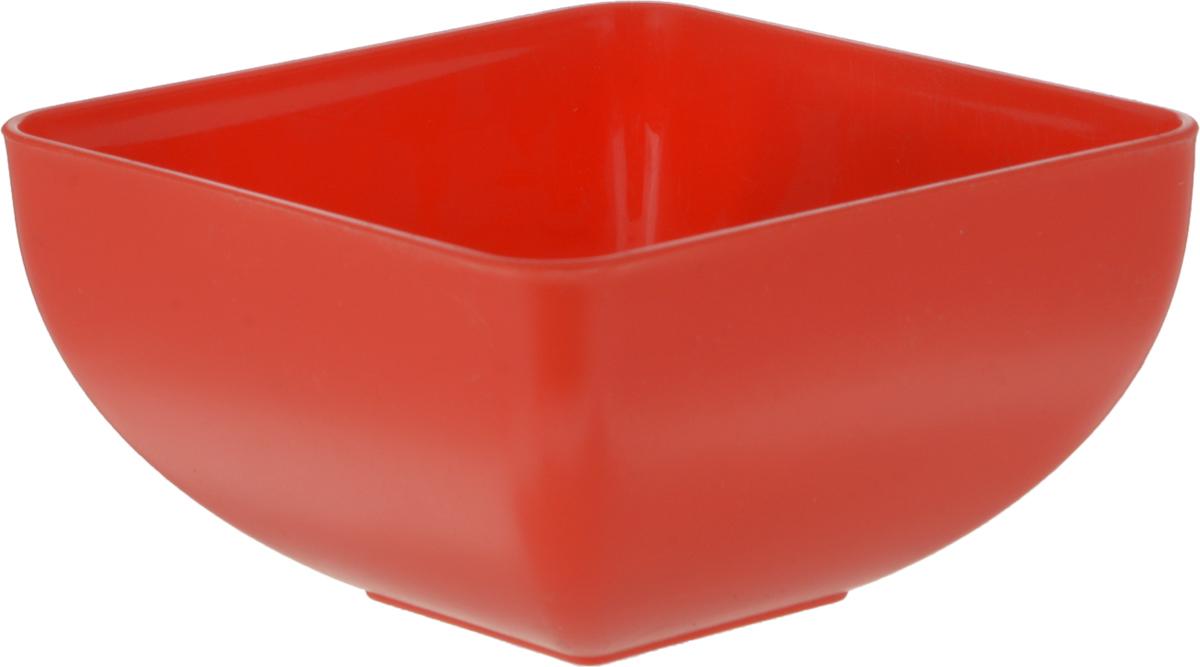 Салатник Gotoff, цвет: красный, 0,5 л. WTC-643WTC-643_красный