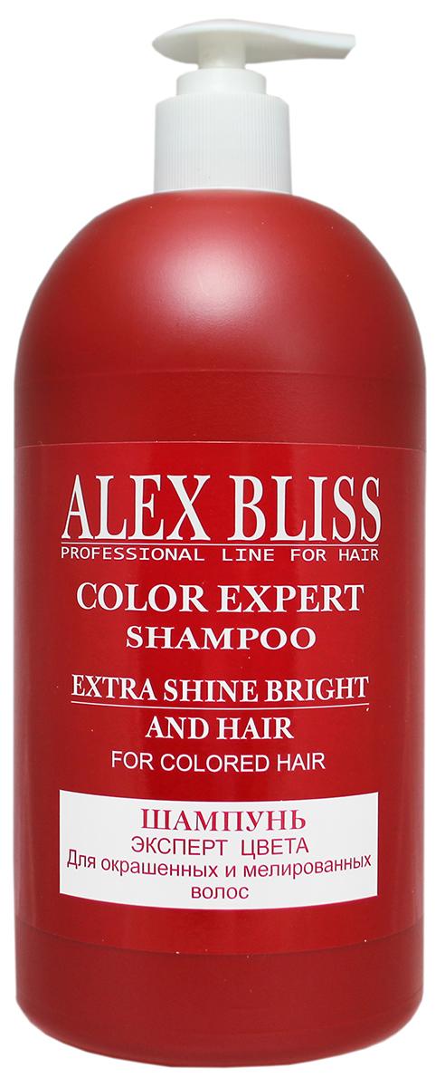 Sanata Шампунь для волос Alex Bliss Эксперт цвета, 1 л sanata крем скраб для ног sanata cosmetics малина ультра увлажнение 180 мл