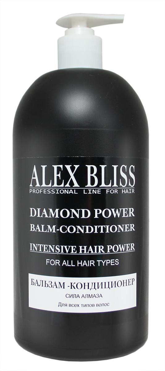 Sanata Бальзам-кондиционер для волос Alex Bliss Сила алмаза, 1 л sanata крем скраб для ног sanata cosmetics малина ультра увлажнение 180 мл