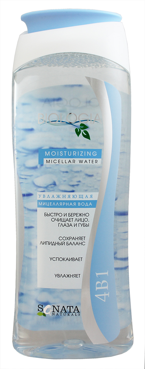 Sanata Мицеллярная водаBiologia увлажнение, 400 мл вода ducray иктиан увлажняющая мицеллярная вода 400 мл