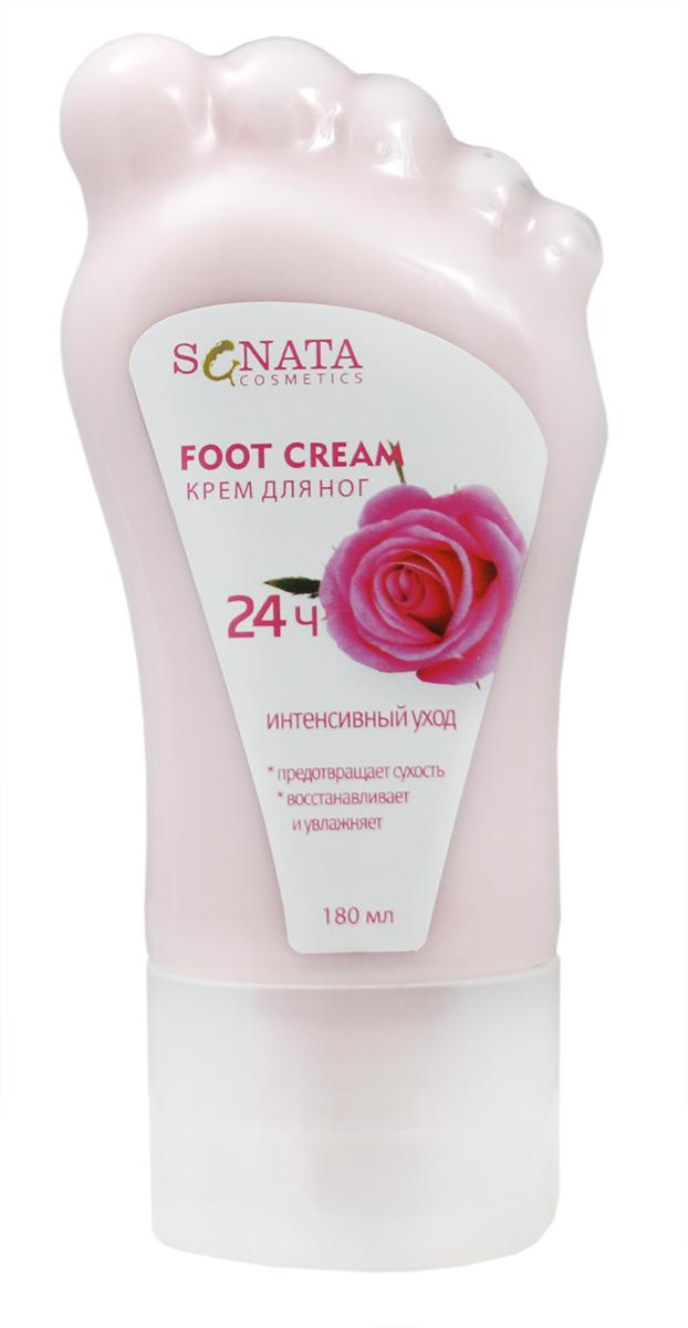 Sanata Крем для ног Sanata Cosmetics Роза, 180 мл sanata крем для рук sanata cosmetics роза 100 мл