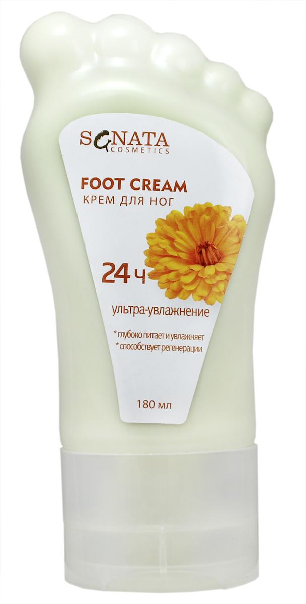Sanata Крем для ног Sanata Cosmetics Календула, 180 мл4670017993716Крем для ног Sanata Cosmetics календула. Подходит для самой чувствительной и огрубевшей кожи ног, обладает противовосполительными и антибактериальными свойствами. Интенсивно смягчает, увлажняет, быстро впитывается, обладает приятным запахом, экстракт календулы способствует ускорению процессов регенирации кожи.