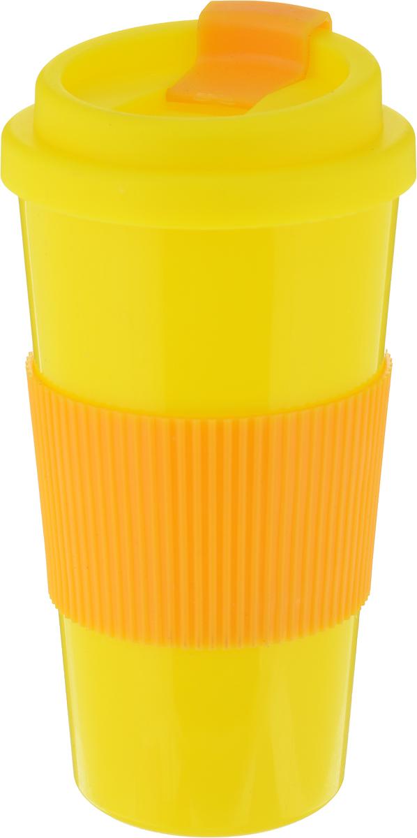 Фляга Mayer & Boch, цвет: желтый, 520 мл. 27095