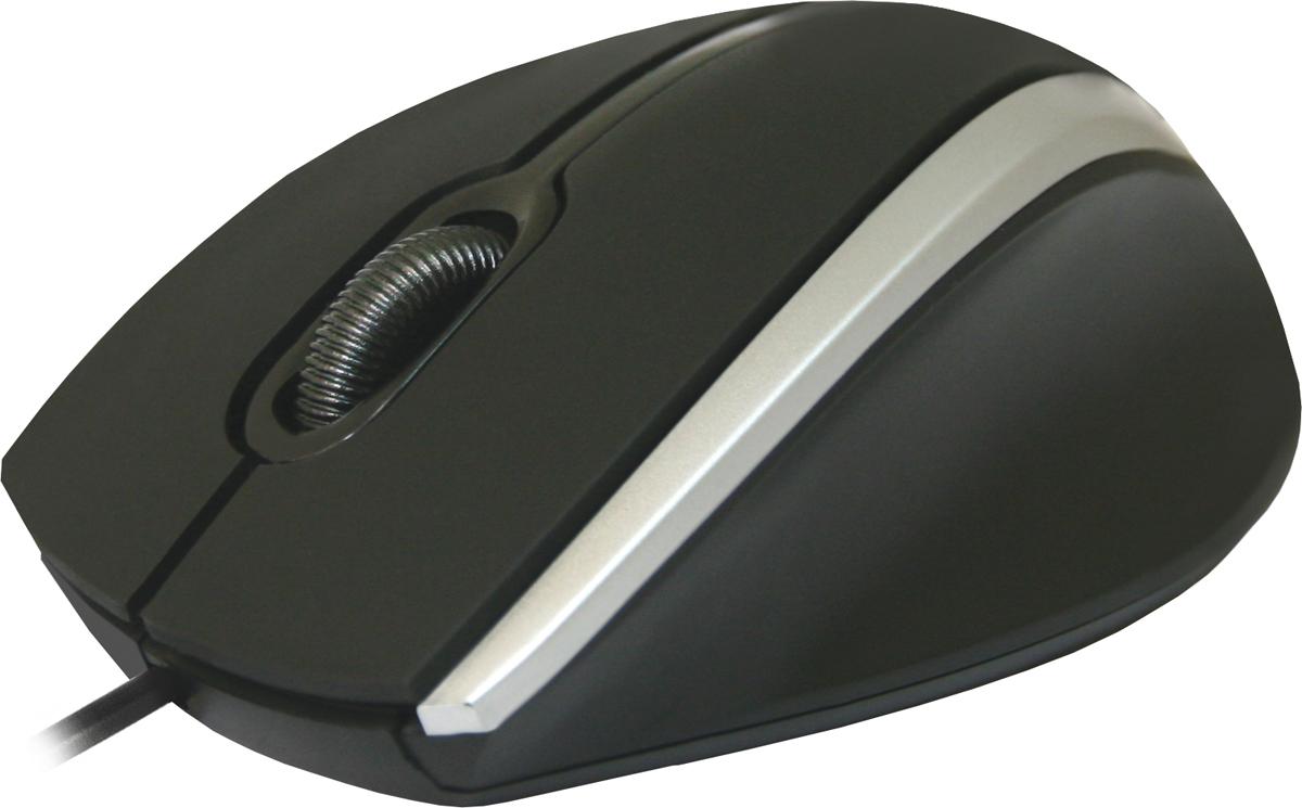Defender MM-340, Black Gray проводная оптическая мышь