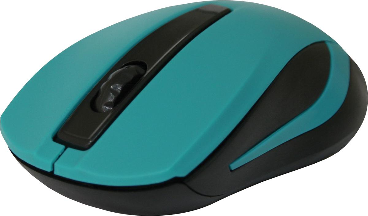 Defender MM-605, Green беспроводная оптическая мышь52607Беспроводная оптическая мышь Defender #1 MM-605 зеленый,3 кнопки,1200dpi