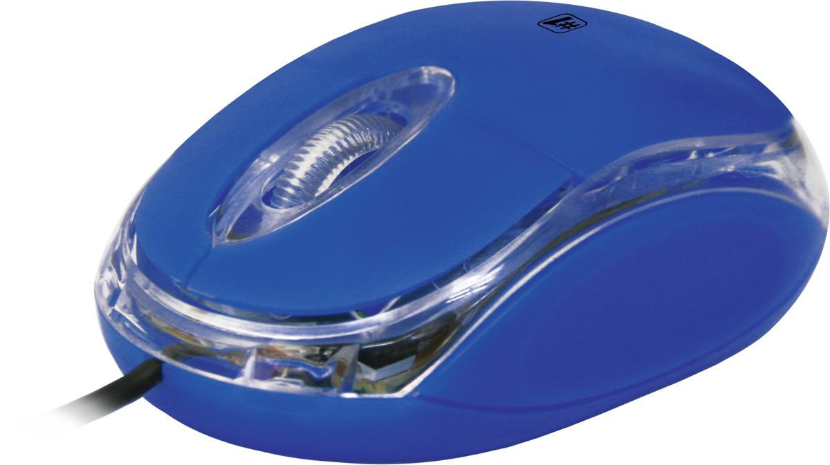 Defender MS-900, Blue проводная оптическая мышь