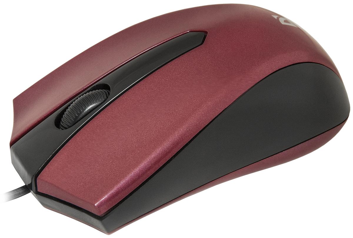 Defender Accura MM-950, Red проводная оптическая мышь