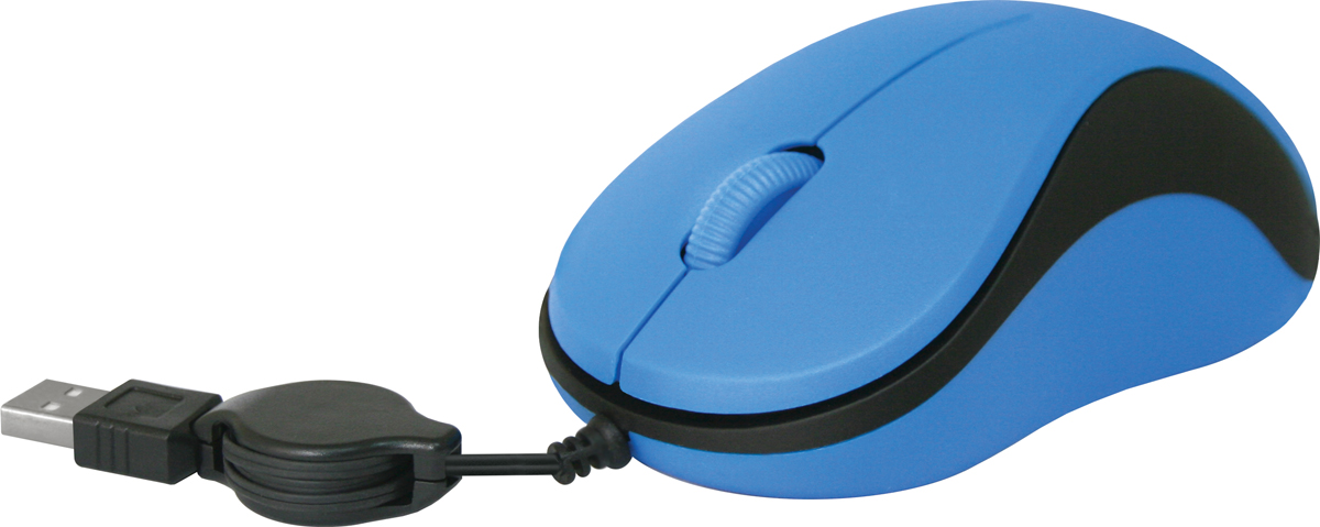 Defender MS-960, Blue проводная оптическая мышь