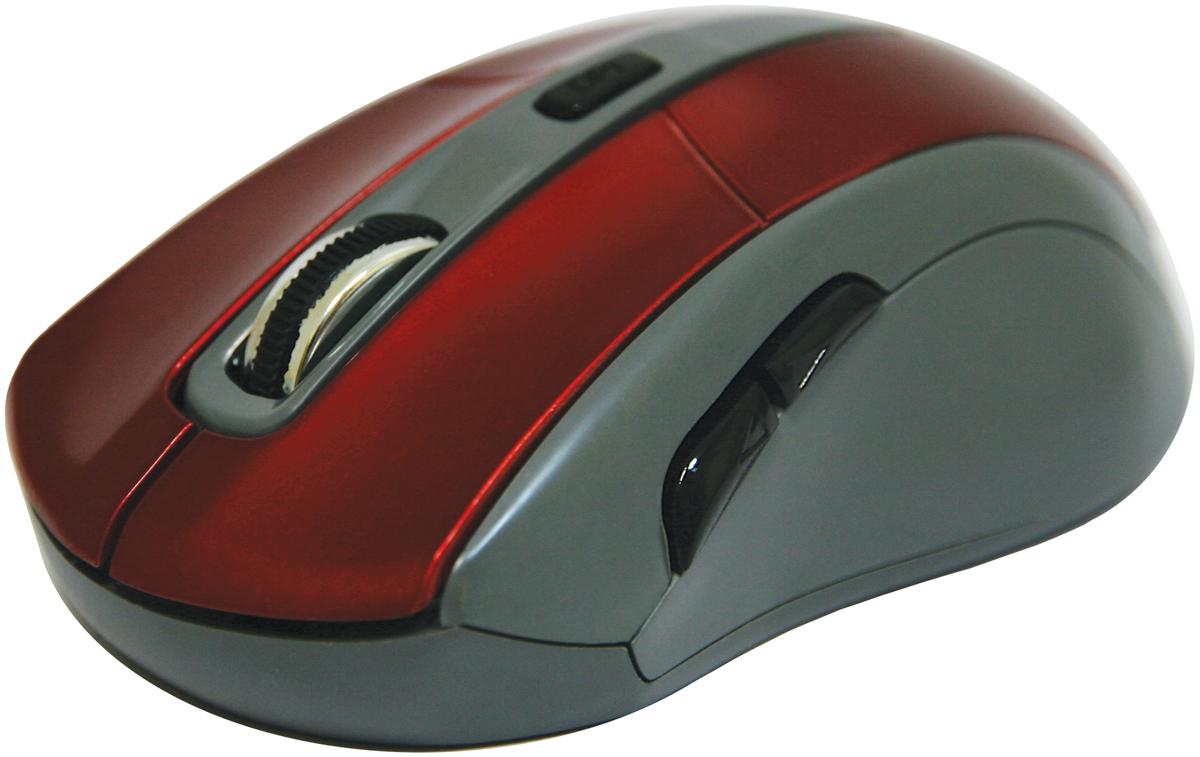 Defender Accura MM-965, Red беспроводная оптическая мышь52966Беспроводная оптическая мышь Defender Accura MM-965 красный,6кнопок,800-1600dpi