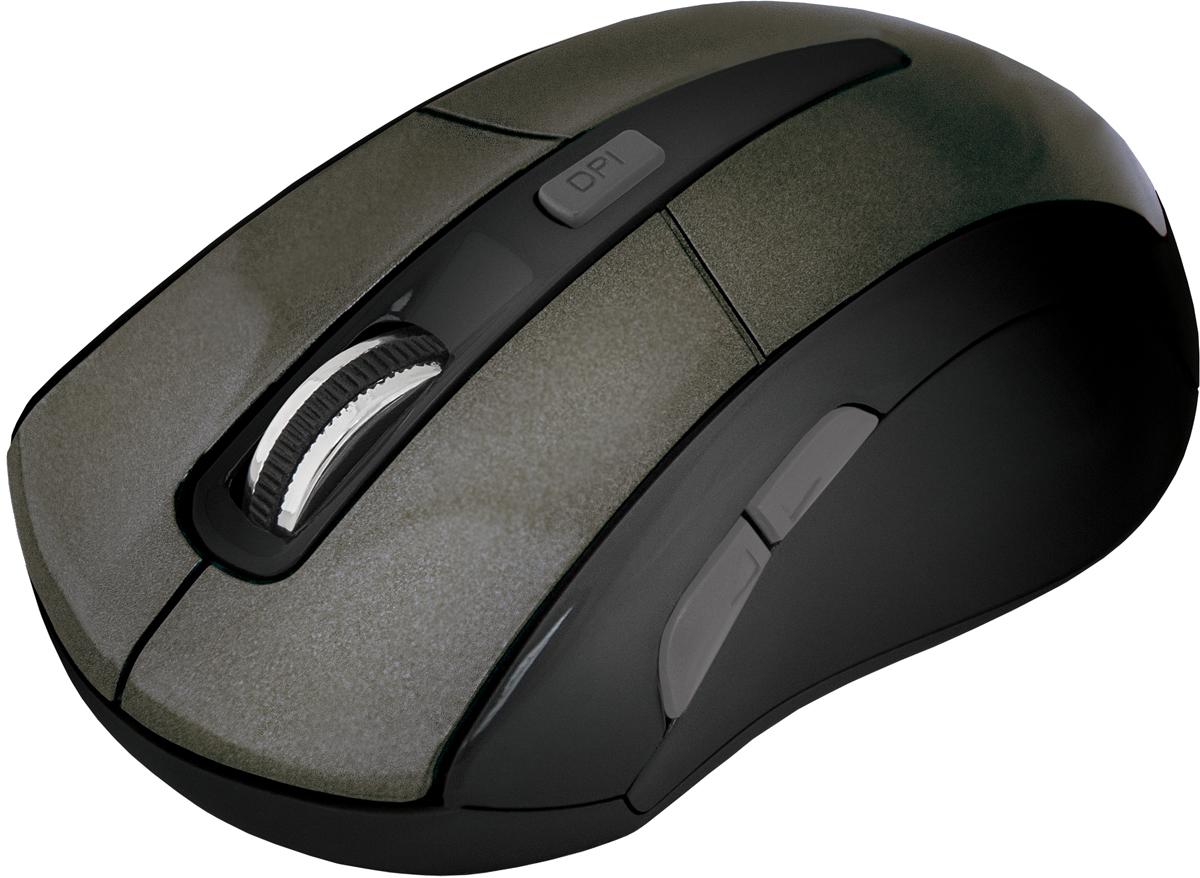 Defender Accura MM-965, Brown беспроводная оптическая мышь52968Беспроводная оптическая мышь Defender Accura MM-965.3 режима разрешения мыши 800/1200/1600 dpiКнопка смены разрешения позволяет менять скорость курсора мыши одним нажатием (800/1200/1600 dpi).Миниатюрный наноприемник можно хранить в корпусе мышиМиниатюрный наноприемник можно не вынимать из USB-порта ноутбука, он не потеряется и не сломается. Сверхпрочное глянцевое покрытие.Поверхность устойчива к появлению царапин.2 боковые кнопкиДве дополнительные программируемые кнопки для работы с приложениями.Радиус действия - 10 мУвеличенный радиус действия беспроводной связи обеспечивает большую свободу действий.
