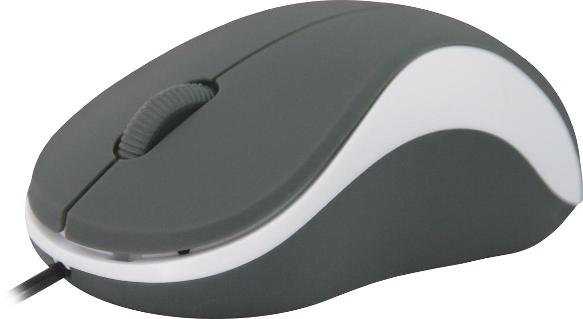 Defender Accura MS-970, Gray White проводная оптическая мышь