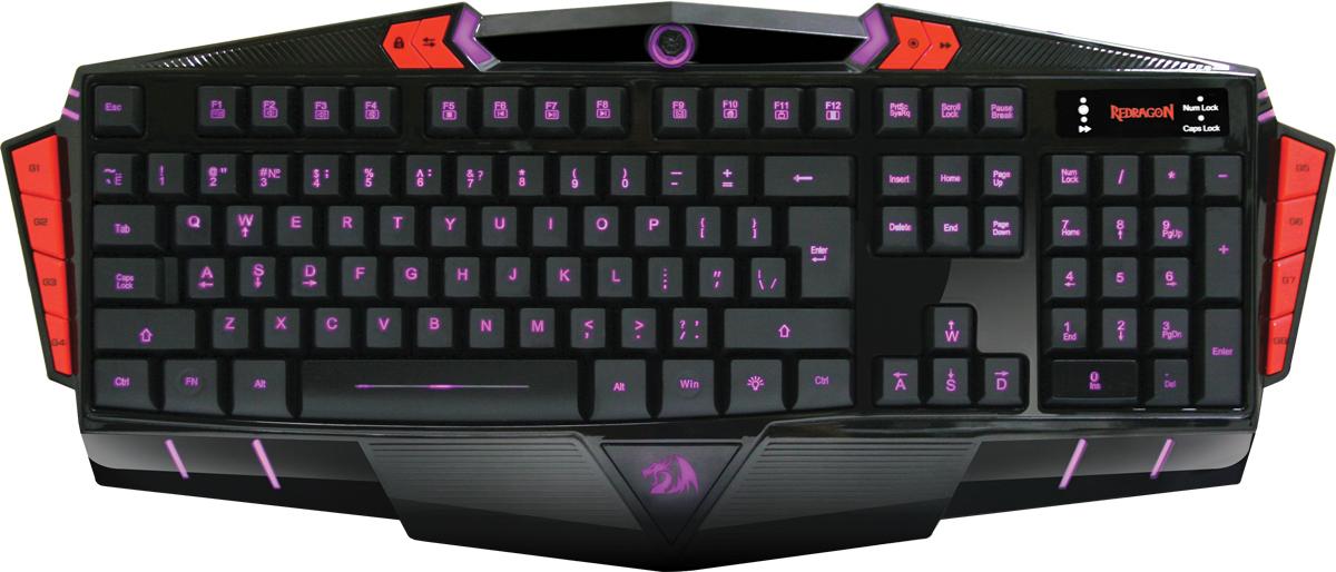 Redragon Asura RU, Black игровая клавиатура цена и фото