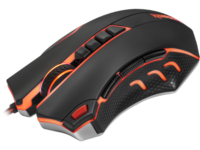 Redragon Titanoboa2, Black Red игровая мышь