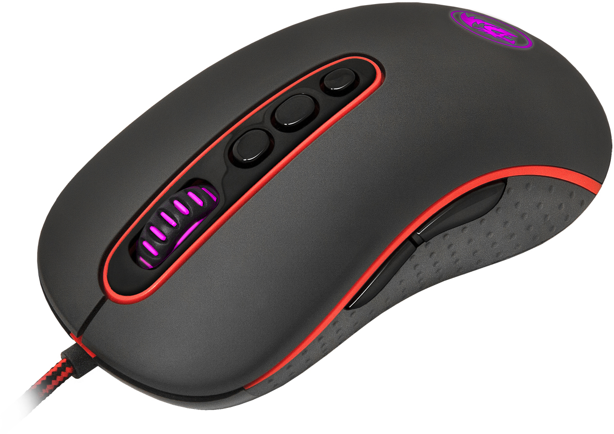 Redragon Phoenix, Black Red игровая мышь