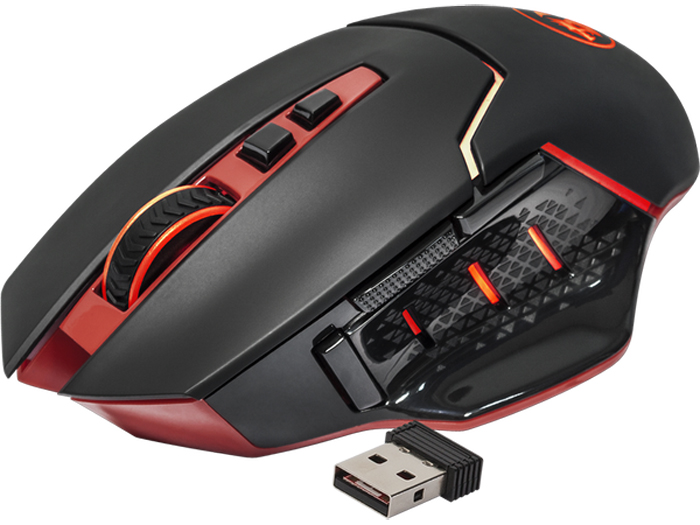 Redragon Mirage, Black Red игровая мышь