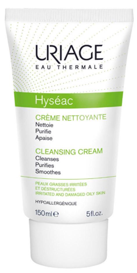 Uriage Очищающий крем Hyseac, 150 млU02663Очень мягко очищает от загрязнений, успокаивает и восстанавливает пересушенную, раздражённую и повреждённую в результате медикаментозного лечения кожу лица. Приятная текстура очищающего крема с лёгким ароматом оставляет чувство свежести.