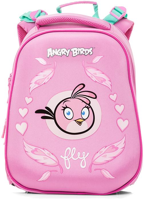 Hatber Ранец школьный Ergonomic Angry Birds Stella hatber дневник школьный angry birds movie 40дт5в 15389