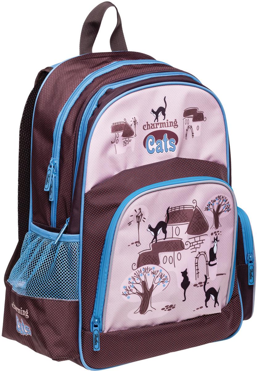 Hatber Рюкзак Soft Charming Cats рюкзаки grizzly рюкзак