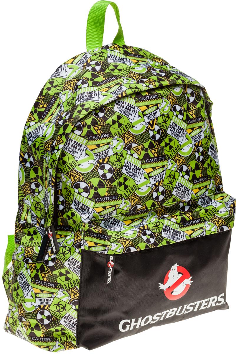 Hatber Рюкзак Basic Охотники за привидениями44780Легкий повседневный молодежный рюкзак. Идеальное соотношение цена-качество. Модные дизайны на любой вкус. Вместительное отделение, внутри него карман для тетрадей. Передний карман на молнии. Уплотненные спинка, дно и лямки.