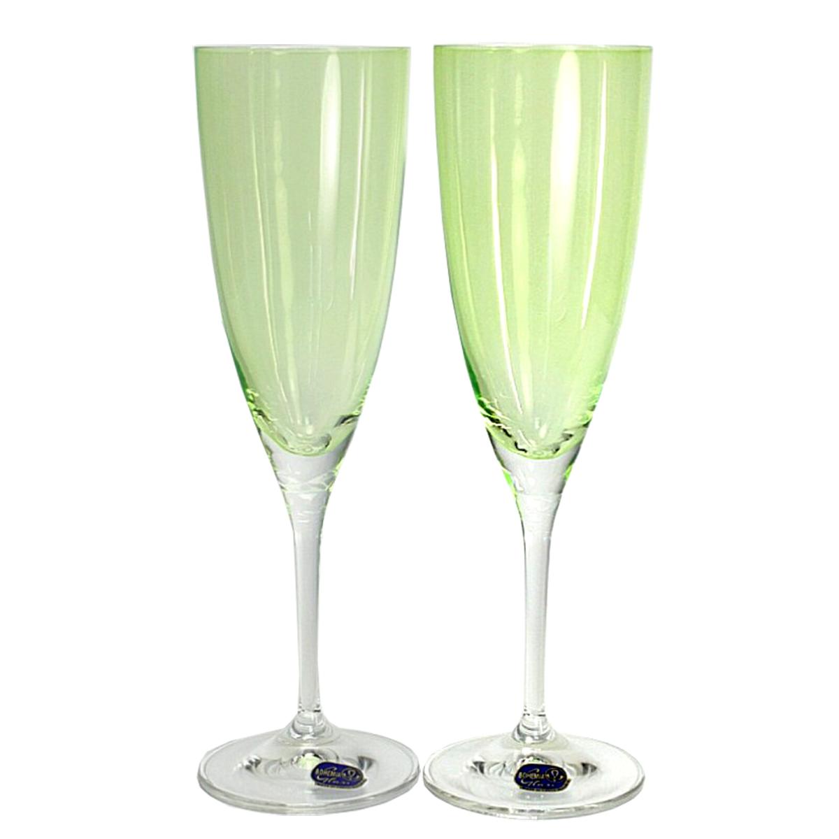 Набор бокалов для шампанского Bohemia Crystal Кейт, 220 мл, 2 шт. 40796/D4353/220-240796/D4353/220-2Набор бокалов для шампанского Bohemia Crystal коллекции Кейт порадуют не только вас, но и ваших гостей. Они обладают привлекательным внешним видом, а материалом их изготовления является высококачественное стекло. Кроме того, красоту и форму посуды подчеркивают прозрачные ножки. Объем бокала 220 мл. Количество в упаковке 2 шт.