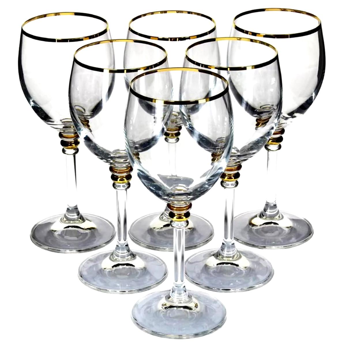 Набор бокалов для вина Bohemia Crystal Оливия, 240 мл, 6 шт набор бокалов для бренди коралл 40600 q8105 400 анжела