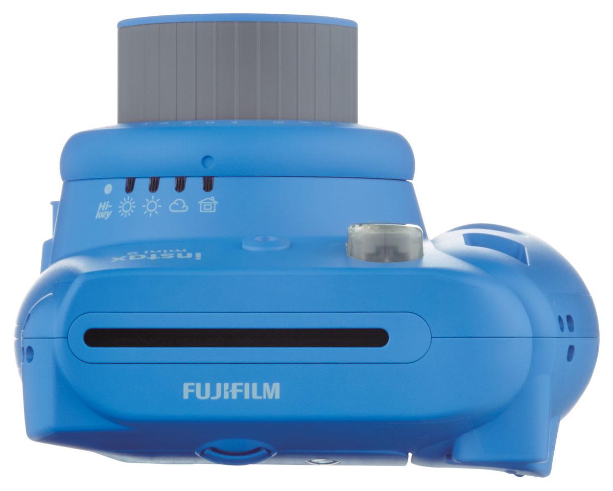 Fujifilm Instax Mini 9, Blueфотокамера мгновенной печати Fujifilm