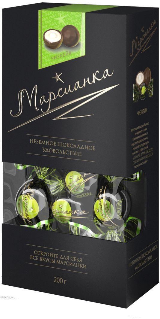 Марсианка чизкейк конфета, 200 г конфэшн веселые тигрята вафли со вкусом сливочно орехового крема 200 г