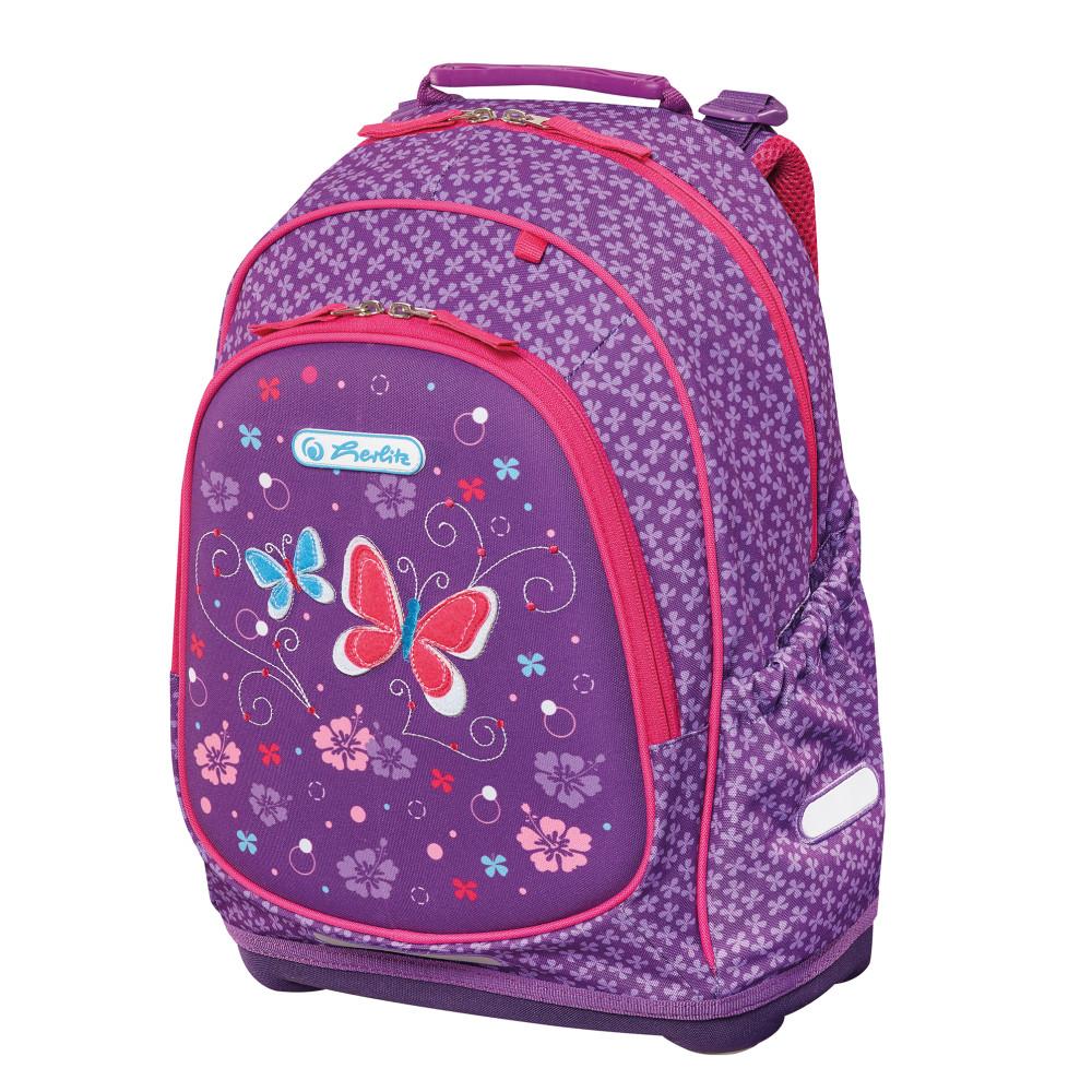 Herlitz Рюкзак Bliss Purple Butterfly - Ранцы и рюкзаки