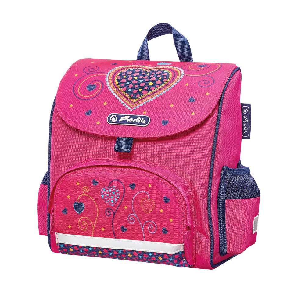 Herlitz Рюкзак дошкольный Mini Softbag Pink Hearts