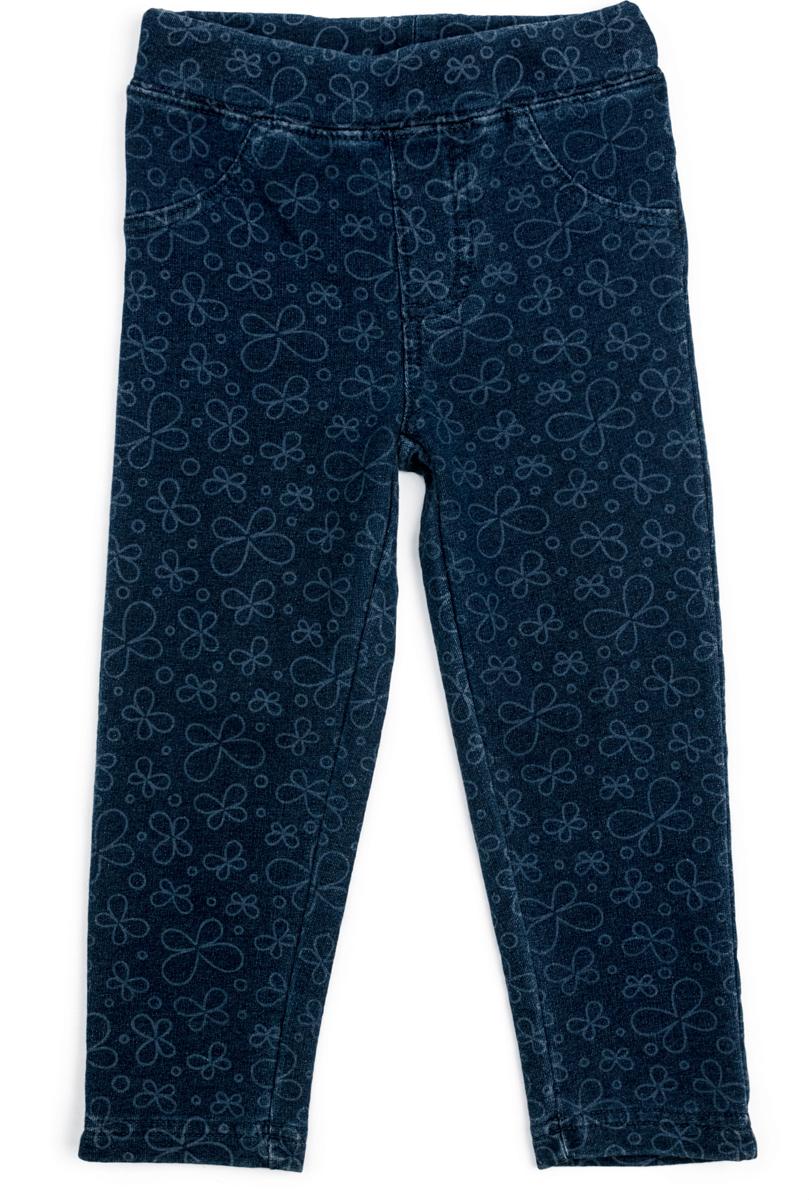 Леггинсы для девочки PlayToday, цвет: голубой. 188062. Размер 86188062